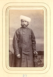 JAMKHANDI: Ram Chandra Rao Gopal, Chief of Jamkhandi (1834-1897).